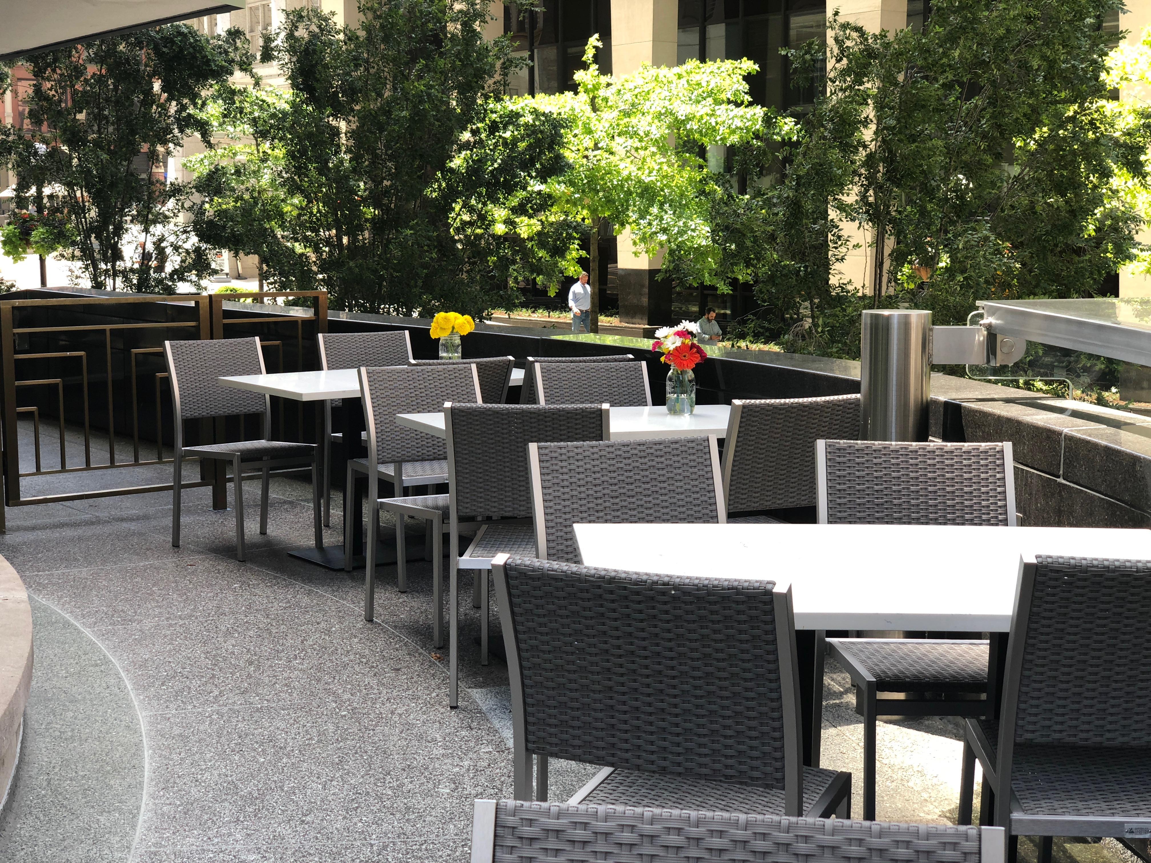 Deacon's New South patio
