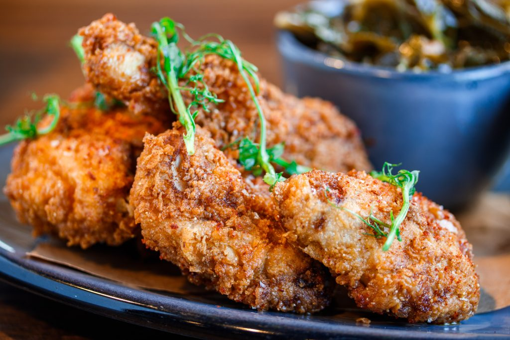 Deacon's gluten-free fried chicken