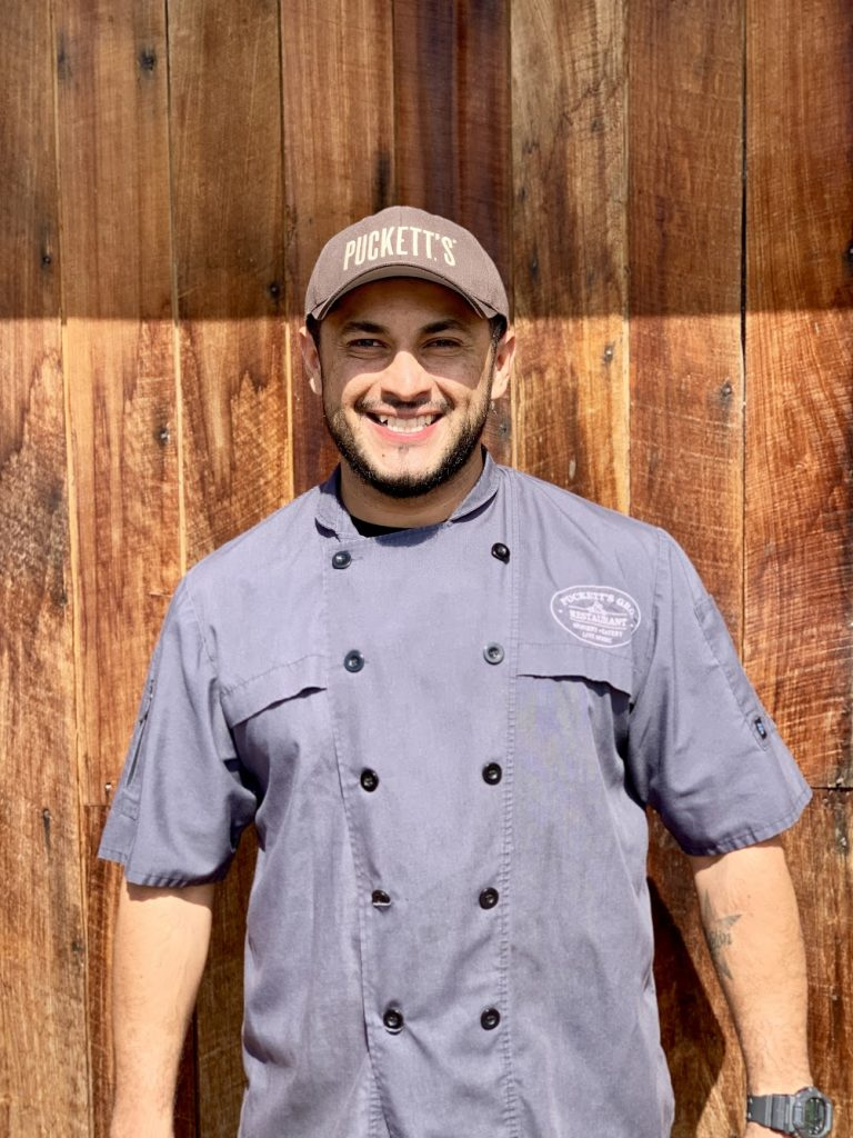 Enrique Matute, Executive Chef at Puckett's Chattanooga